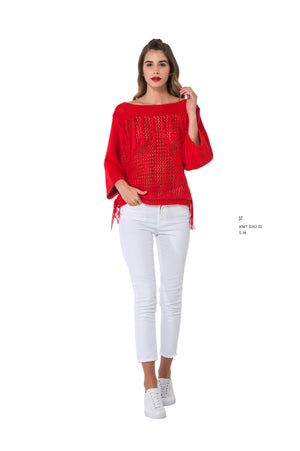 Sweater with Fringing - guimanos-store