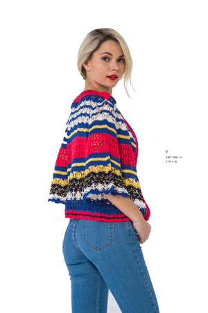 Striped Colorful Knit Wear