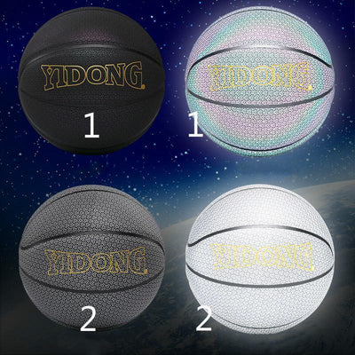 Holographic Glowing Reflective Basketball - Goodssay