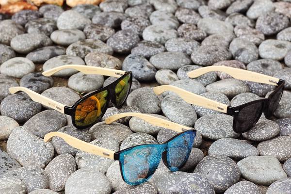 bamboo sunglasses from Wodd PH
