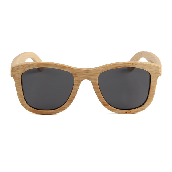 Blaker - 01 - Full Bamboo Sunglasses Smoked Polarized Lens Philippines