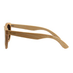 Blaker - 01 - Full Bamboo Sunglasses Smoked Polarized Lens UV400