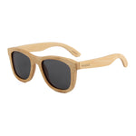 Blaker - 01 - Full Bamboo Sunglasses Smoked Polarized Lens