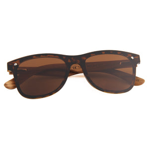 Berkton Wooden Sunglass Brown Polarized Lens Wodd PH