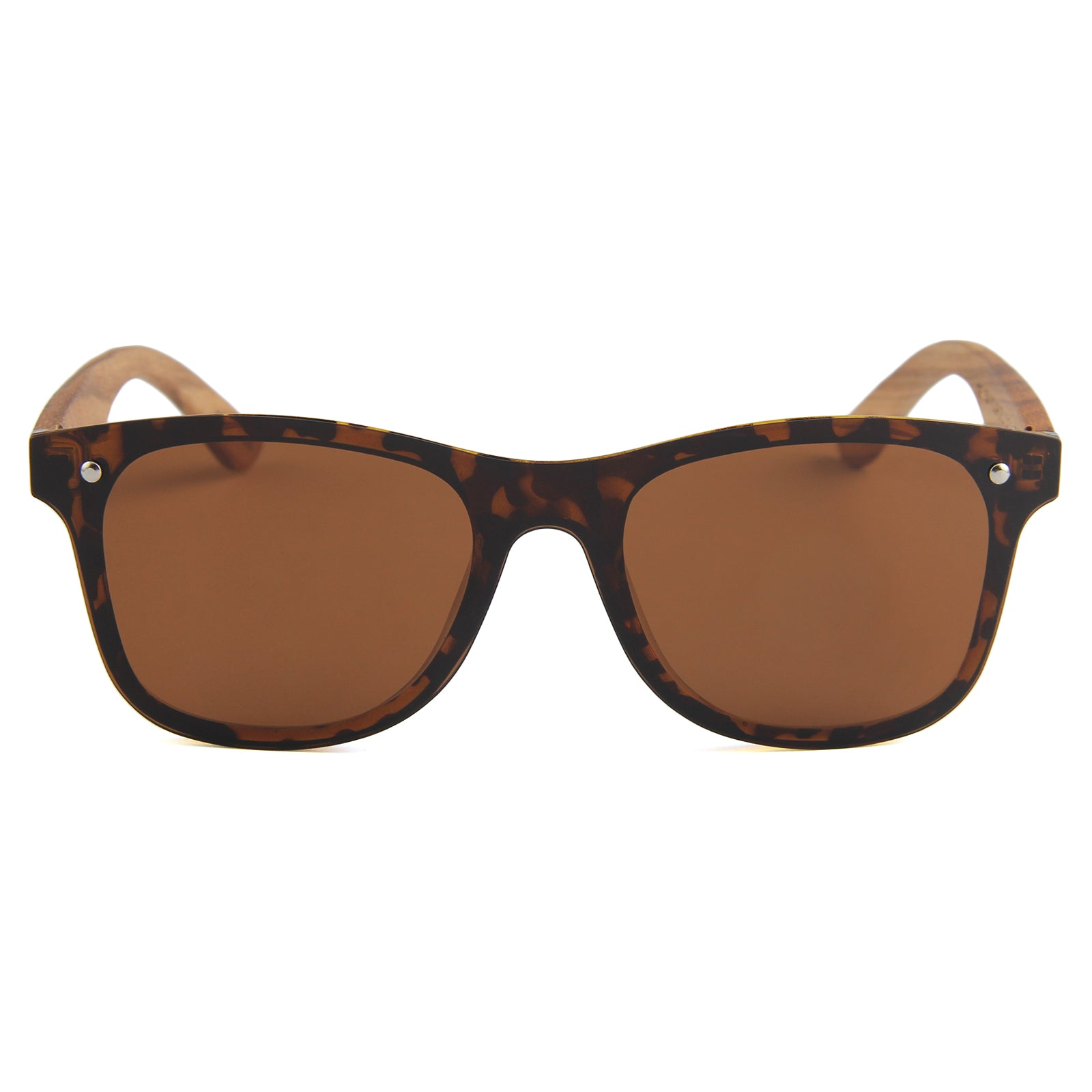 Berkton Wooden Sunglass Brown Polarized Lens Philippines
