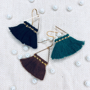 T1 - chic earring with tassel