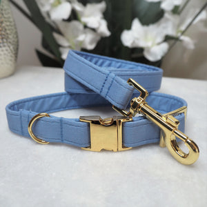 'Dusty Blue' Dog Collar