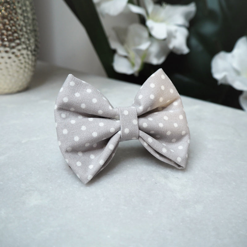 'Dappled Grey' Bow Tie