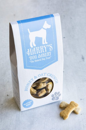 honey and oat dog treats