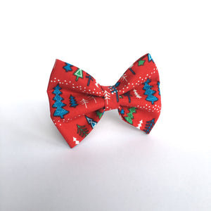 'Colourful Christmas' Bow Tie