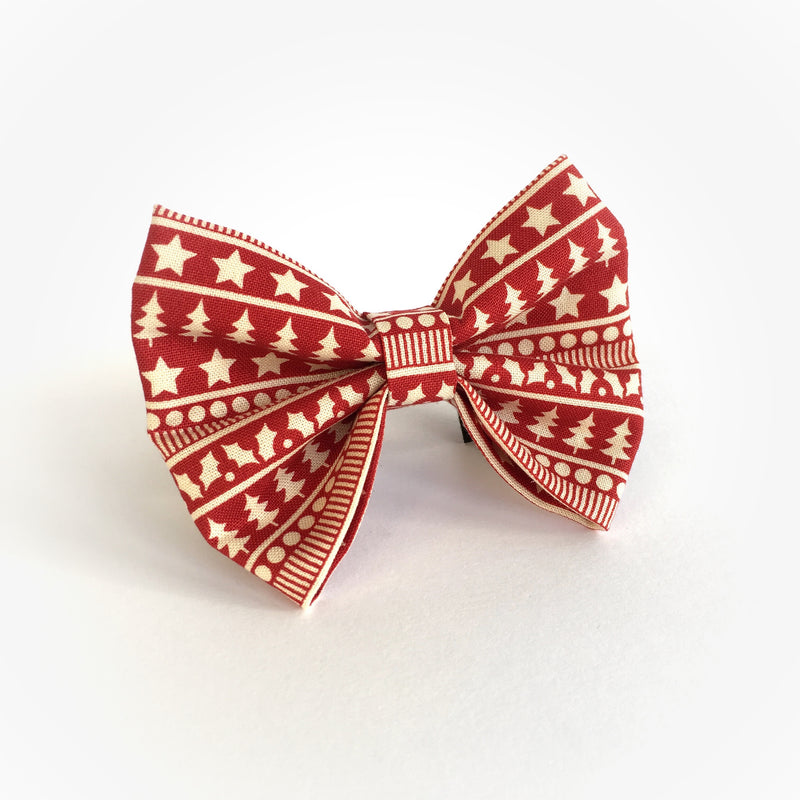 'Happy Holidays' Bow Tie