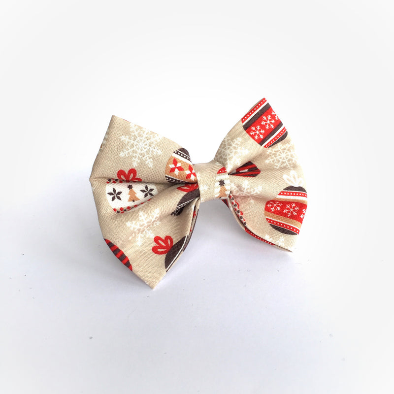 'Deck The Halls' Bow Tie