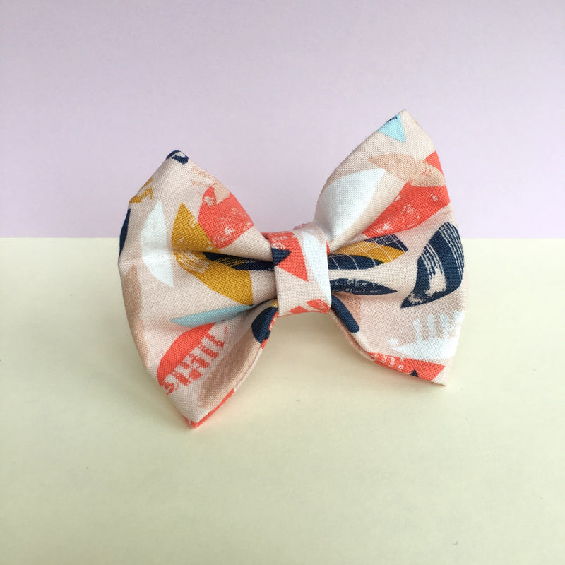 'Paper Leaves' Bow Tie