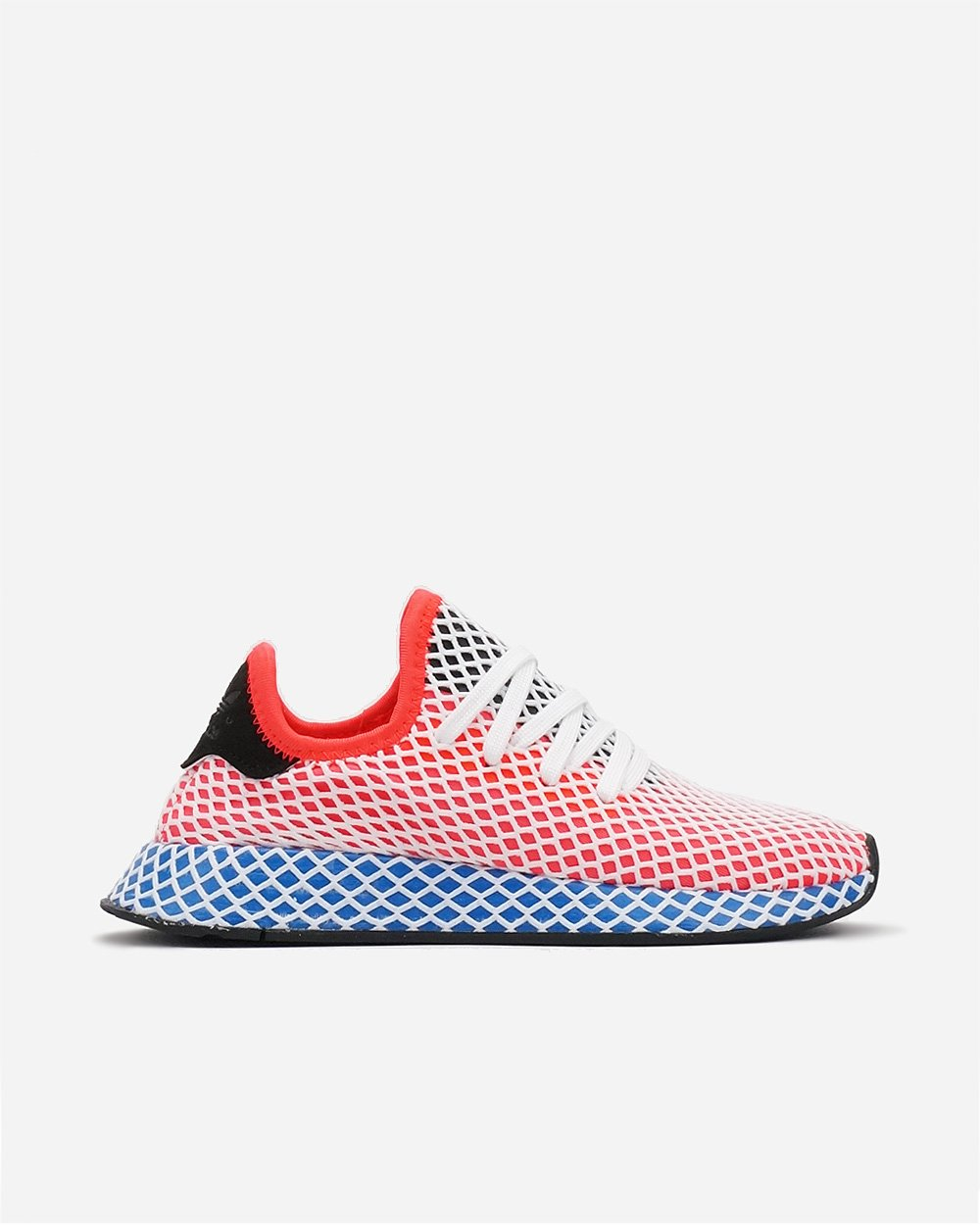 Adidas Womens Deerupt Runner Solar Red Blue AC8466 – themefashion 8 d1a79cc57