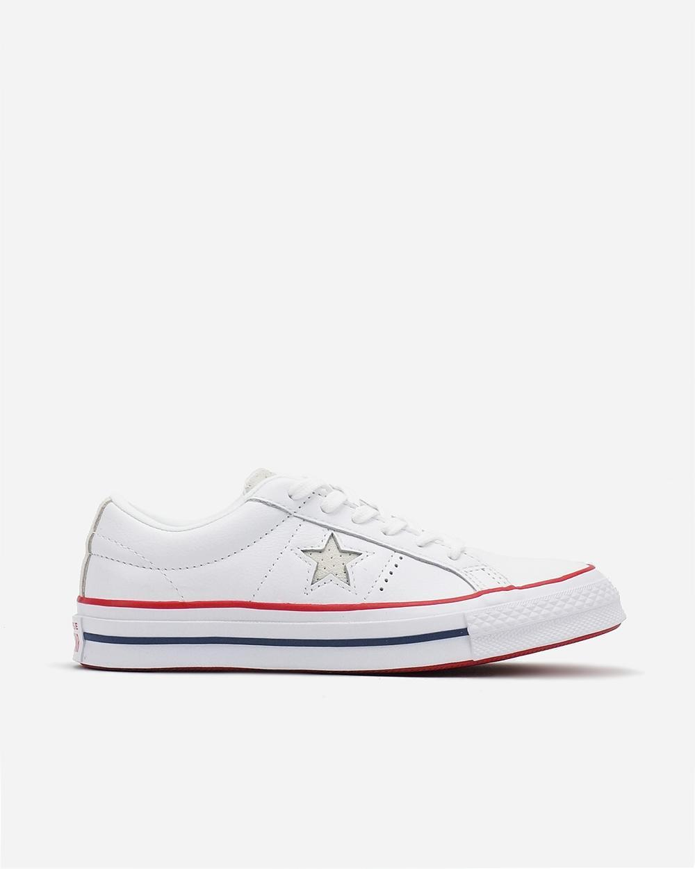 Converse One Star New Heritage White