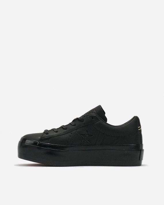 512d014a9ec7 Converse One Star Platform Premium Leather Black 559898 – themefashion 8