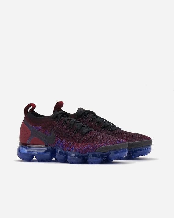 size 40 f0453 3aa9a Air Vapormax Flyknit 2 Black/Team Red/Racer Blue