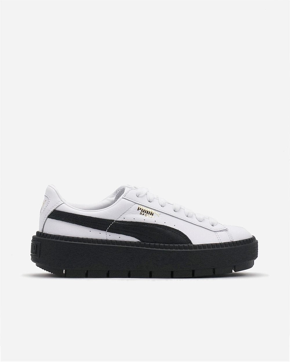 Basket Platform Trace White/Black