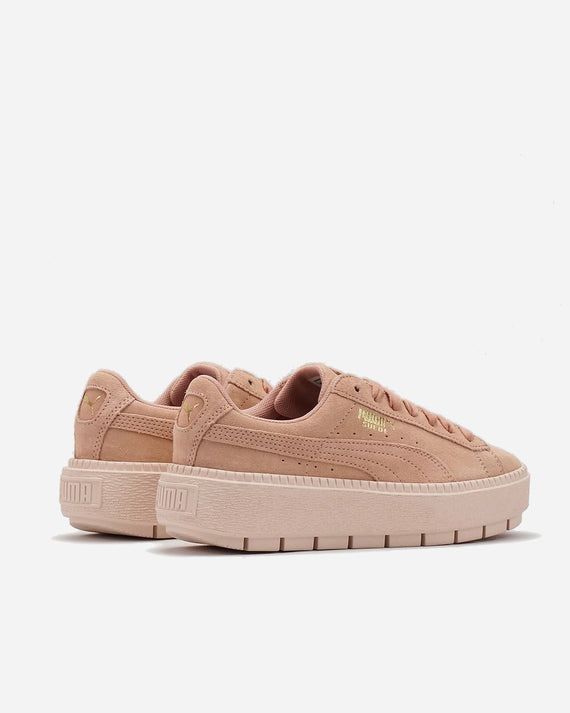 Suede Platform Trace Peach Beige/Pearl