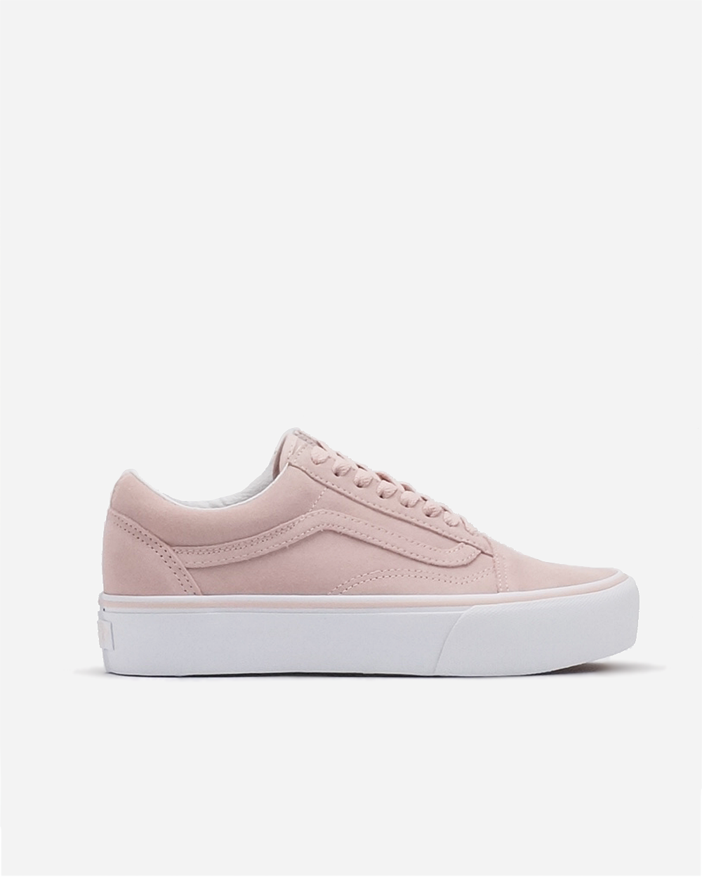 Old Skool Platform Sepia Rose/True White
