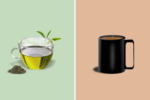 How Much Caffeine is in Green Tea Compared to Coffee?