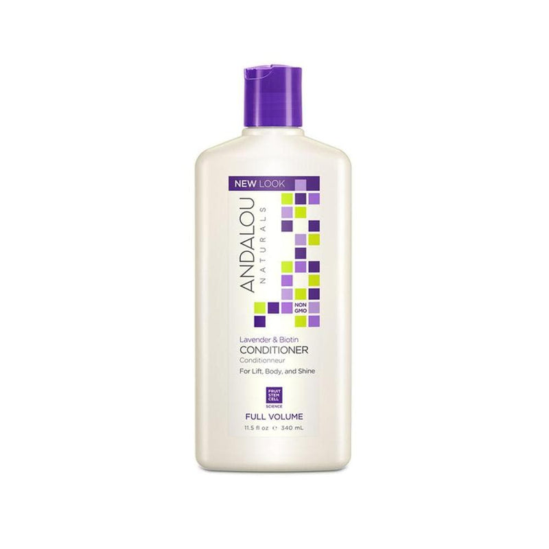 Andalou Naturals Full Volume Conditioner - Lavender & Biotin, 11.5oz - Konvalia Naturals | Natural Skin Care Products