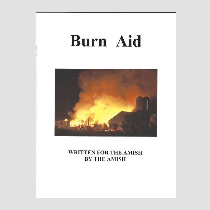 Burn Aid - A book with all the info you need to treat basic burns at home