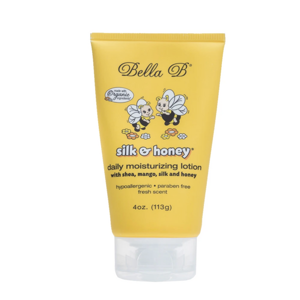 Silk and Honey Baby Daily Moisturizing Lotion 4oz