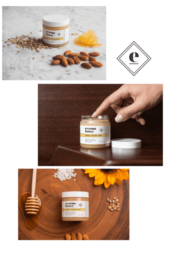 Eczema Honey - Natural Healing Cream - Konvalia Naturals | Natural Skin Care Products
