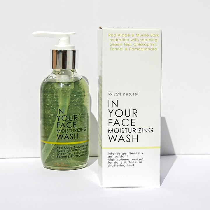 In Your Face Moisturizing Wash - 4 oz.