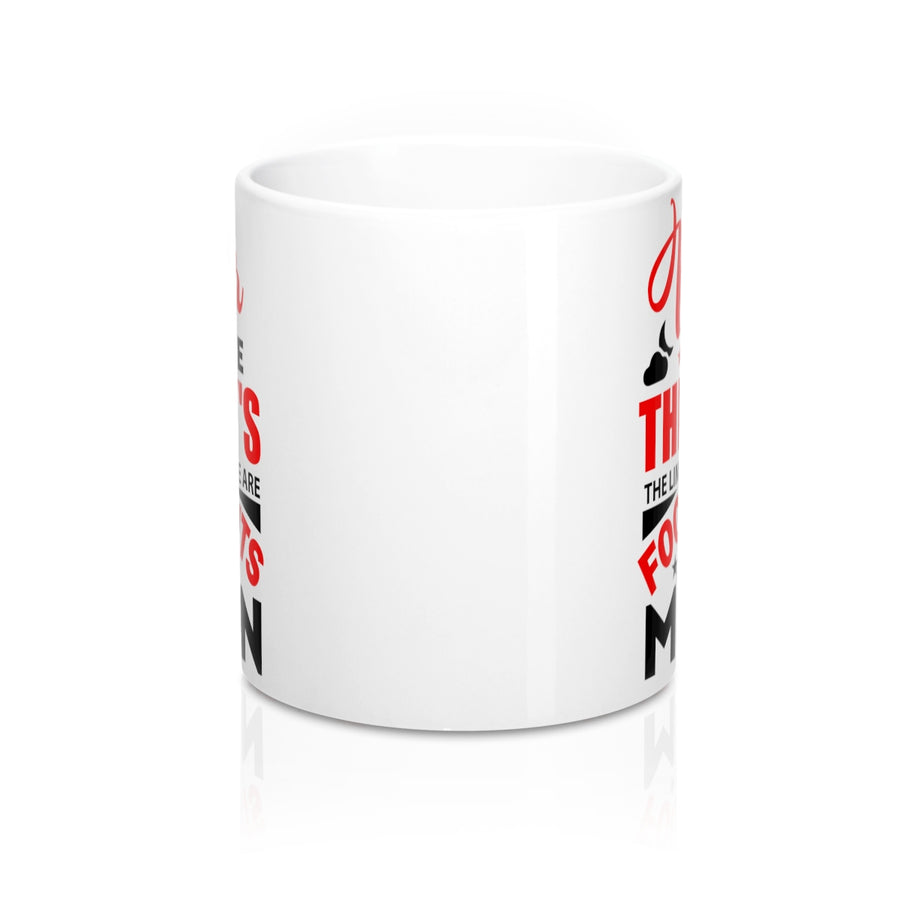 Never Tell Me The Sky's The Limit When There Are Footprints On The Moon Mug - drogos-cafe