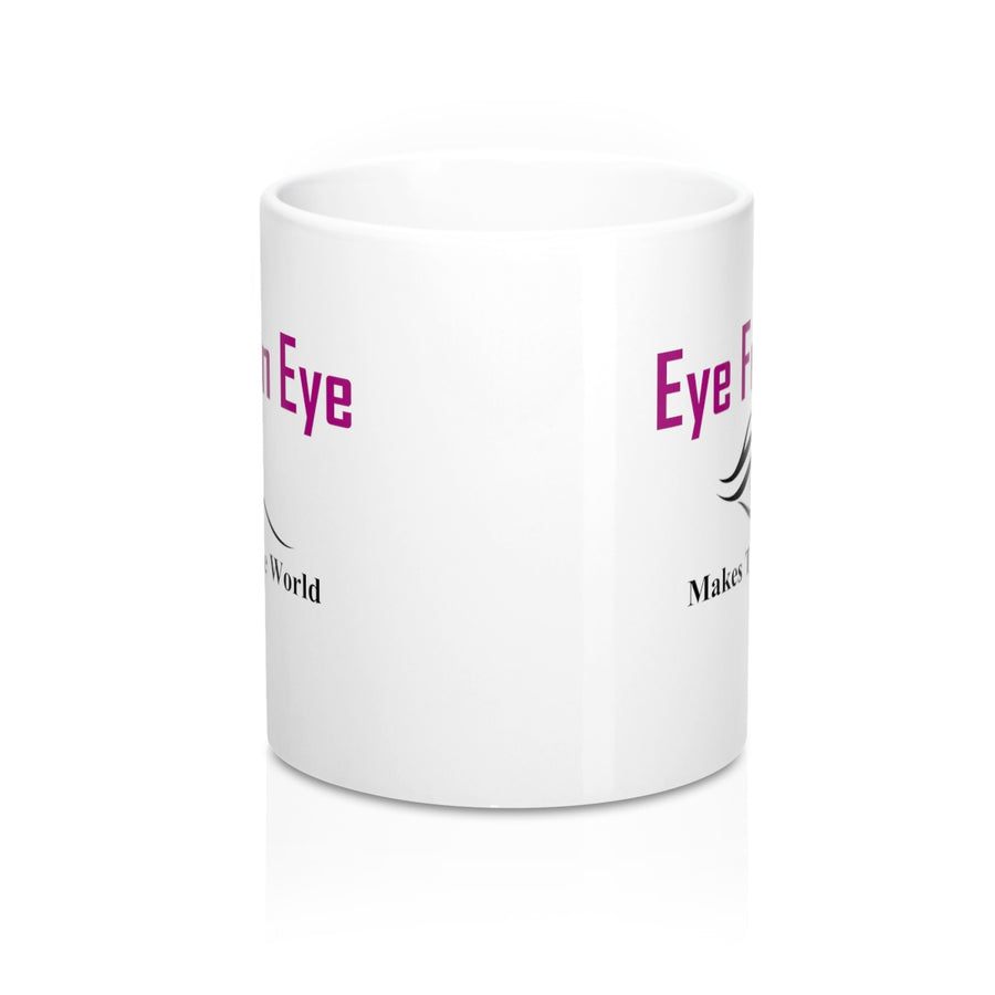 Eye For An Eye Makes The Whole World Blind Ceramic Coffee Mug - drogos-cafe