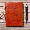 Capricorn Zodiac Handmade Leather Journal - drogos-cafe