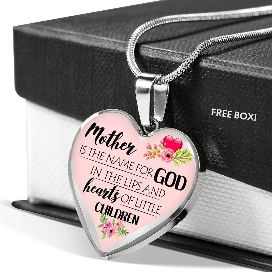 Mother Is The Name For GOD Necklace
