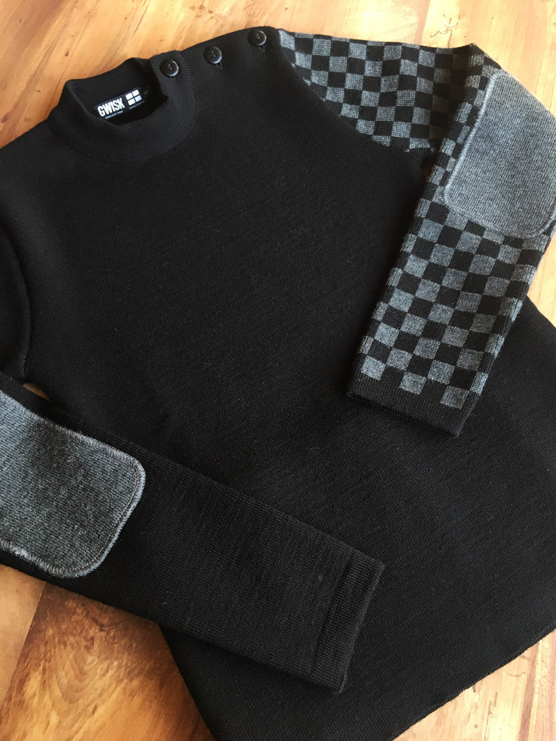 "Laine Mérinos confort et durable. Le Pull Ride ""Chill"""