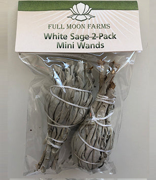 White Sage Mini Wands