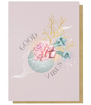 Greeting Card - Good Vibes
