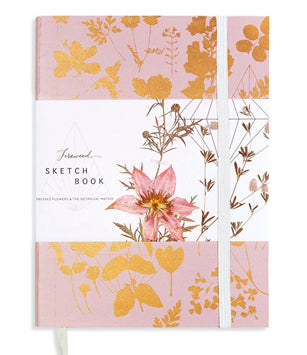 Papaya Fireweed Sketchbook - Pink Shine
