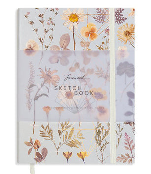 Papaya Fireweed Sketchbook - Golden Garden