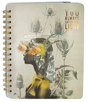Papaya Notebook - You Always Catch the Light
