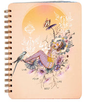 Papaya Notebook - Live Your Best Life