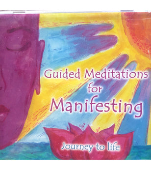 Guided Meditations For Manifesting - CD