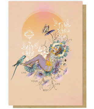 Greeting Card - Live Your Best Life