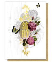 Greeting Card - So Fly