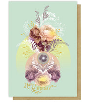 Greeting Card - Solar Bloom