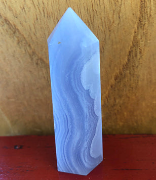 Blue Lace Agate Crystal #2