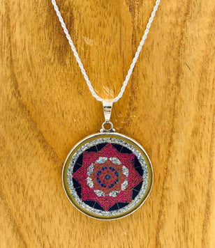 Star of Lakshmi Sacred Geometry Pendant
