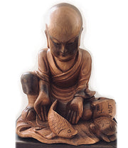 'All Things Free' Monk Statue