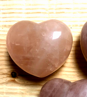 2 inch Rose Quartz Heart