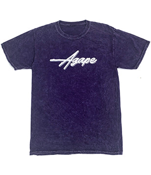 Agape T-Shirt - Vintage Purple